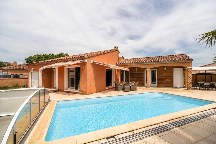 Villa met zwembad met wifi  Aigues-VivesHélo Sama