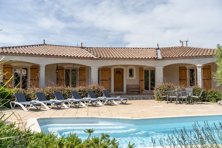 Villa Frankrijk, Languedoc-roussillon, Pouzols Minervois (Soleil d