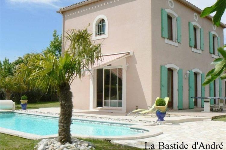 Villa met zwembad met wifi  Carcassonne  Vrijstaande villa in het prachtige Carcassonne