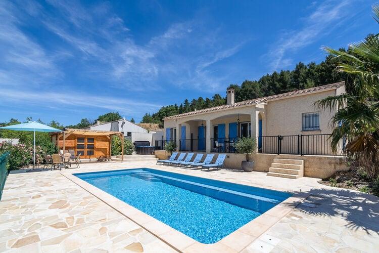 Villa met zwembad met wifi  Felines-MinervoisLa Capitelle