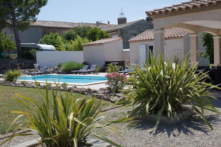 Villa Frankrijk, Languedoc-roussillon, Castelnau d