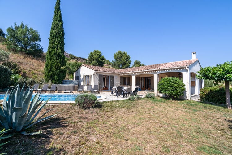 Villas Frankrijk | Languedoc-roussillon | Villa te huur in Beaufort met zwembad  met wifi 6 personen