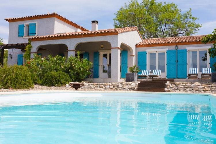 Villa met zwembad met wifi  Felines-MinervoisVilla Lézard Bleu