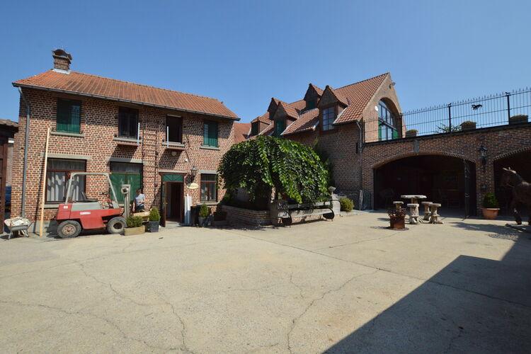 Belgie | Brabant | Boerderij te huur in Gooik met zwembad  met wifi 36 personen