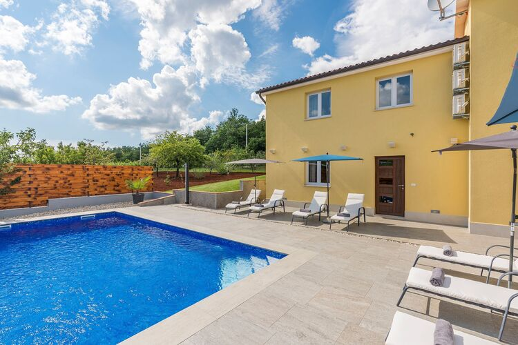 Villa Kroatië, Istrie, Vranici Kod Visnjana Villa HR-00014-41