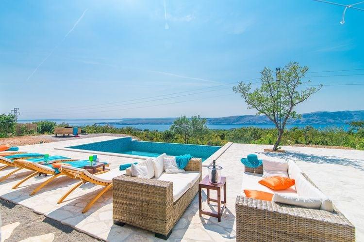 Stinica Vakantiewoningen te huur Mooie stenen villa met een fascinerend uitzicht vanaf privézwembad over de zee