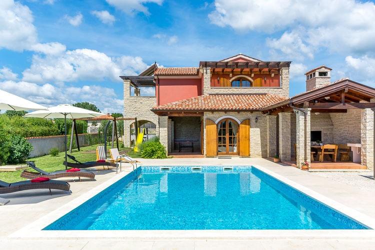 Kroatie | Istrie | Villa te huur in Barban   met wifi 9 personen