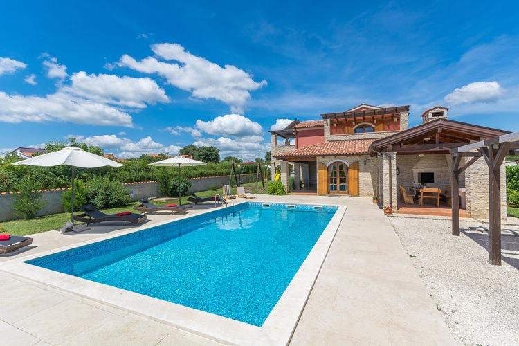 Villa Kroatië, Istrie, Barban Villa HR-00014-45