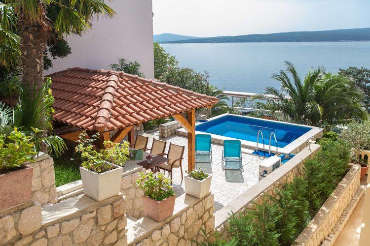 Vakantiehuizen Kroatie | Kvarner | Vakantiehuis te huur in Crikvenica met zwembad  met wifi 10 personen