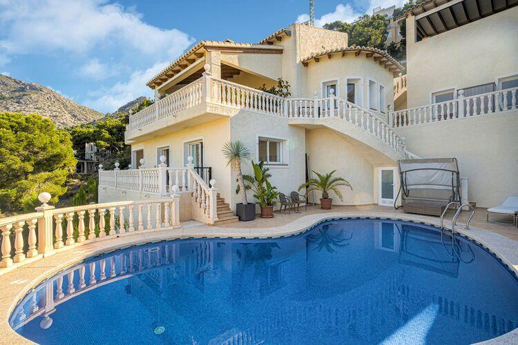 vakantiehuis Spanje, Costa Blanca, Altea Hills vakantiehuis ES-00013-200