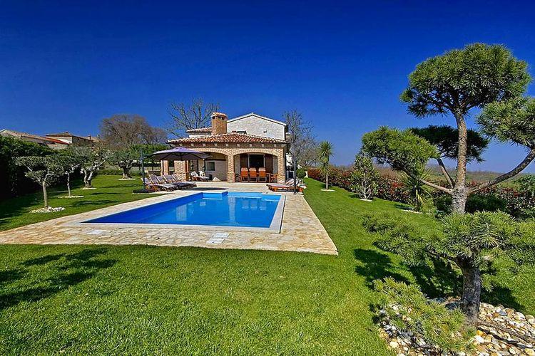 Villa Kroatië, Istrie, Višnjan Villa HR-52463-51