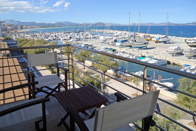 Spanje | Mallorca | Appartement te huur in Can-Picafort   met wifi 6 personen