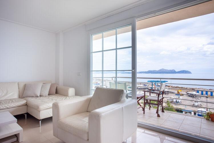 Appartementen Spanje | Mallorca | Appartement te huur in Can-Picafort   met wifi 6 personen