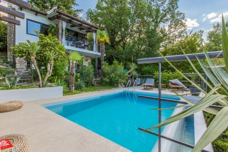 Woning Kroatie | Kvarner | Vakantiehuis te huur in Crikvenica met zwembad  met wifi 4 personen