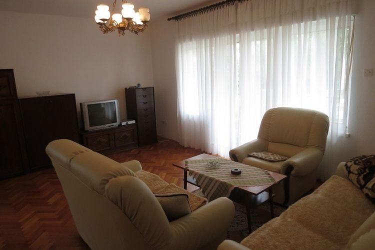 Appartement Kroatië, eld, Malinska Appartement HR-00014-95