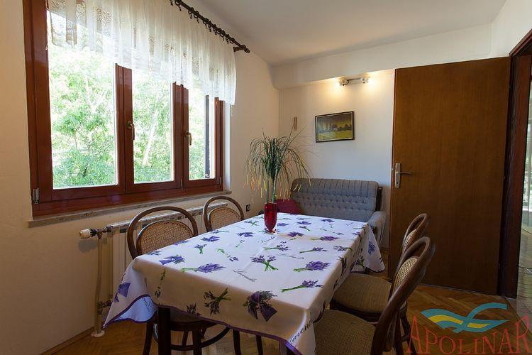 Appartement Kroatië, eld, Malinska Appartement HR-00014-97