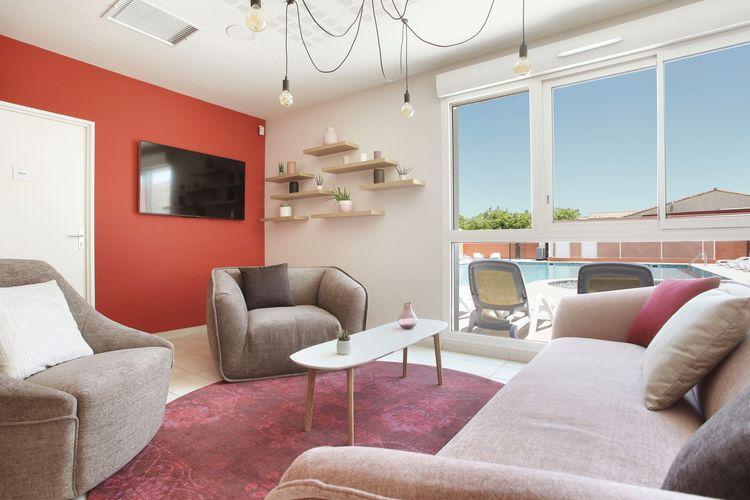 Vakantiehuizen Frankrijk | Languedoc-roussillon | Appartement te huur in Aigues-Mortes met zwembad  met wifi 6 personen