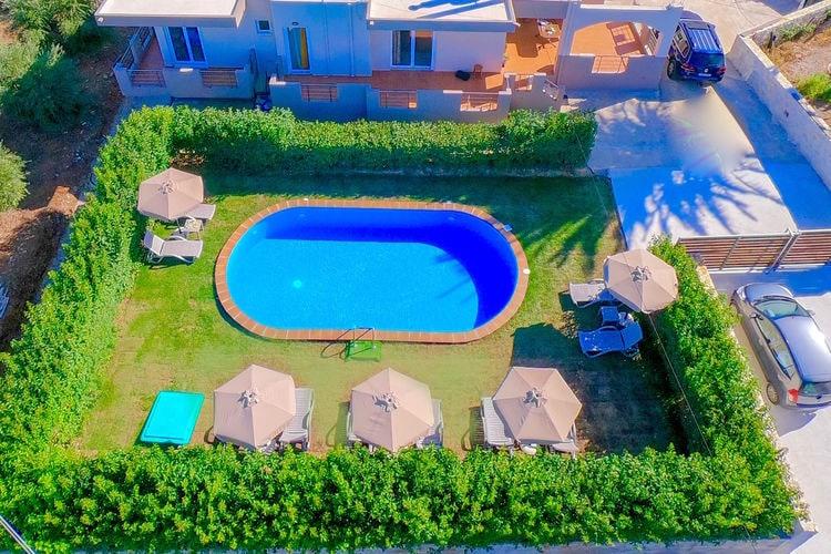 Villa Griekenland, kreta, Alikianos, Chania Villa GR-73005-01