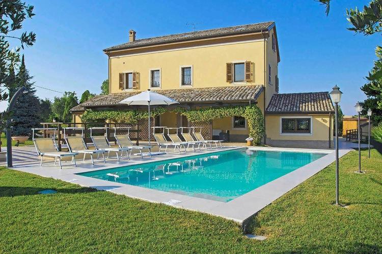 Villas Italie | Marche | Villa te huur in Senigallia met zwembad  met wifi 12 personen