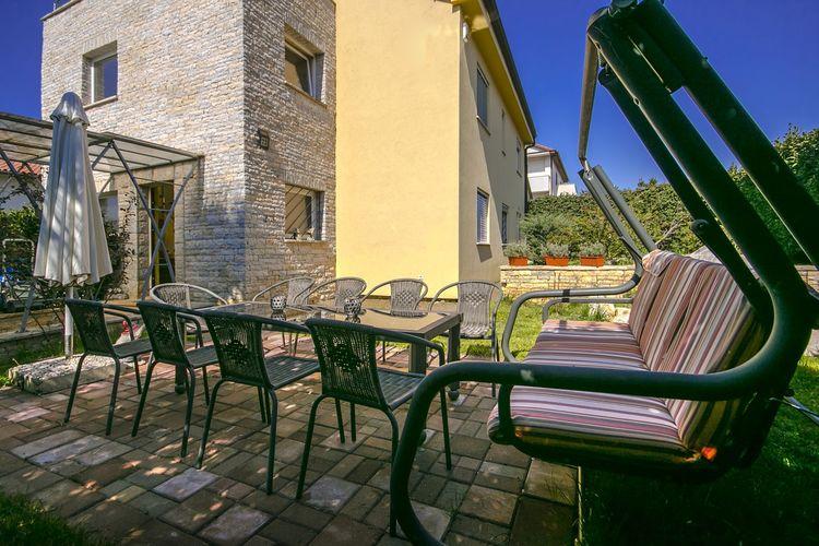 Villa Kroatië, Istrie, Porec Villa HR-00015-16