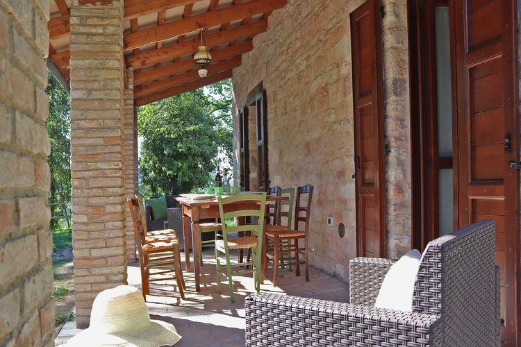 Villa Italië, Marche, Cagli Villa IT-61043-68