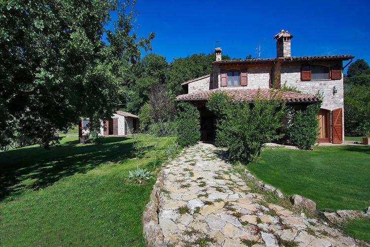 Vakantiehuizen Italie | Umbrie | Villa te huur in Monte-Castello-di-Vibio met zwembad  met wifi 11 personen