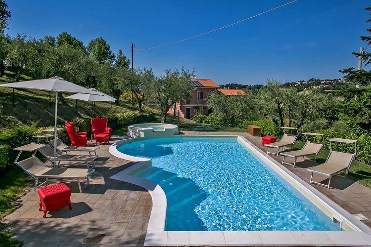 Villa Italië, Marche, Candelara Villa IT-61122-60