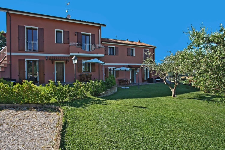 Vakantiehuizen Italie | Marche | Villa te huur in Candelara met zwembad  met wifi 5 personen