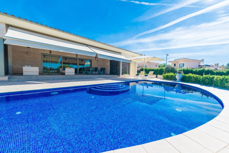 Vakantiehuizen Spanje | Mallorca | Villa te huur in Marratxi-Illes-Balears met zwembad  met wifi 8 personen
