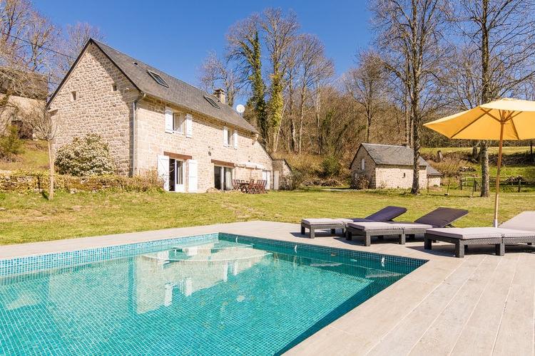 Vakantiehuizen Frankrijk | Limousin | Vakantiehuis te huur in Veix met zwembad  met wifi 8 personen