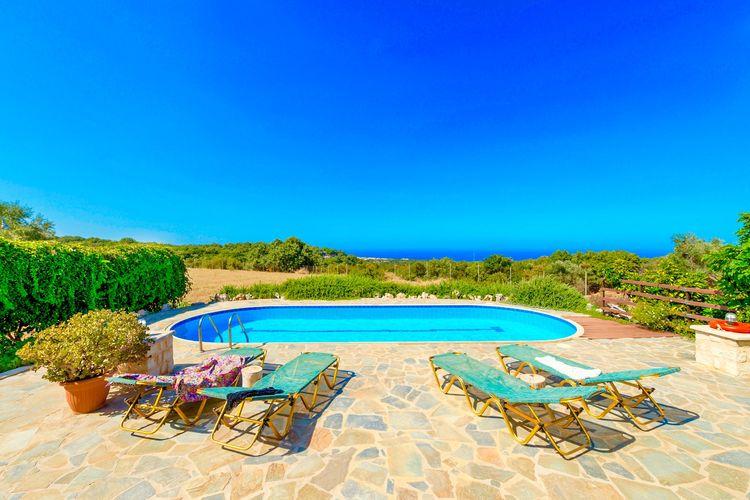 Villa Griekenland, kreta, Gallos, Atsipopoulo Villa GR-74100-100