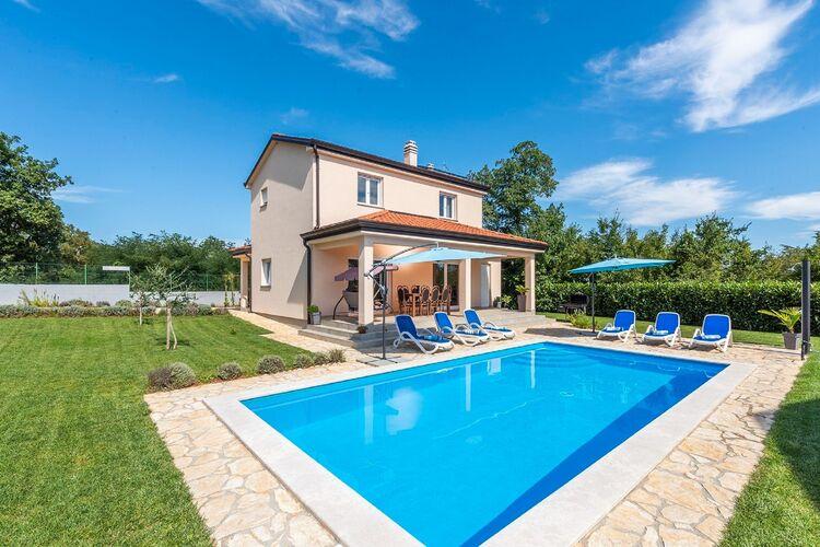 Vakantiehuizen Kroatie | Istrie | Villa te huur in Kanfanar met zwembad  met wifi 8 personen