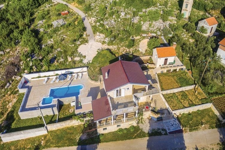 vakantiehuis Kroatië, Dalmatie, Krusevo vakantiehuis HR-00015-45