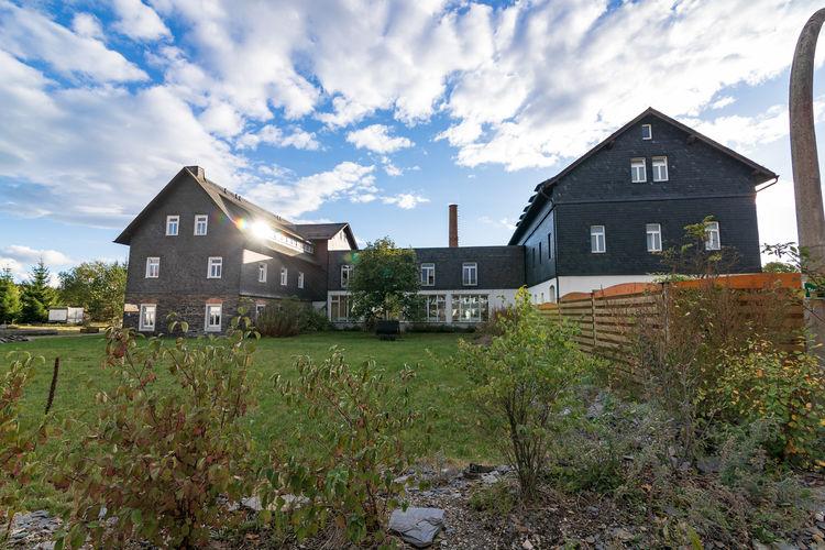 Kaue und Remise und Gästehaus Lehesten Thür Wald Thuringia Germany