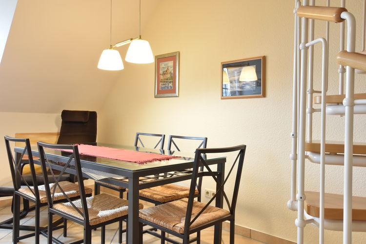 Duitsland | Ostsee | Appartement te huur in Borgerende   met wifi 4 personen