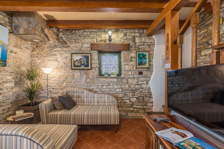 vakantiehuis Kroatië, Istrie, Kanfanar vakantiehuis HR-00015-58