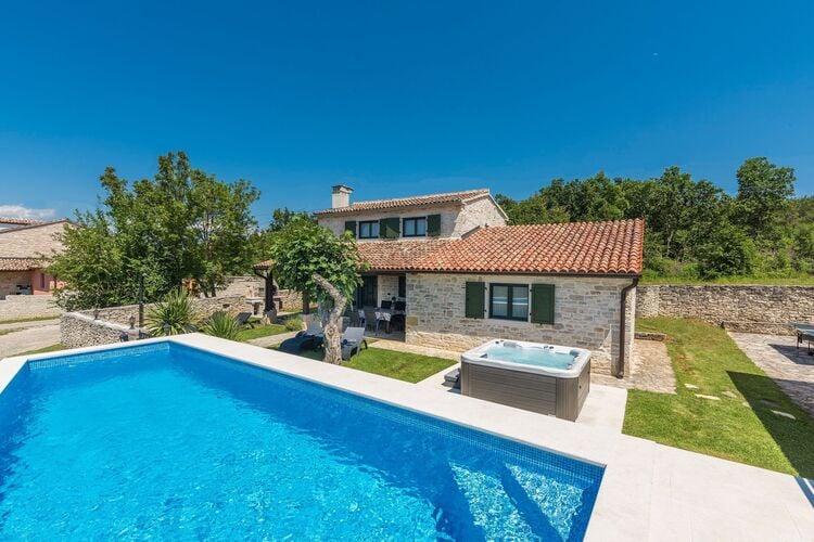 Vakantiehuizen Kroatie | Istrie | Vakantiehuis te huur in Kanfanar met zwembad  met wifi 6 personen