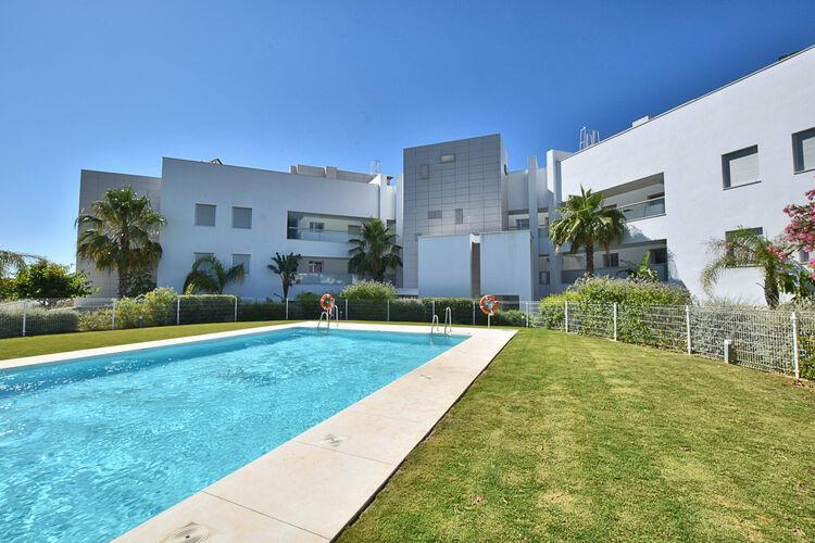 Appartement met zwembad met wifi  MijasLa Calagolf Miraval