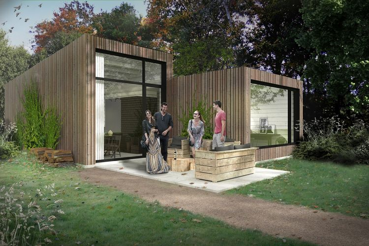 Bungalow  met wifi  Schaijk  Moderne lodge met twee badkamers, op vakantiepark met vele faciliteiten