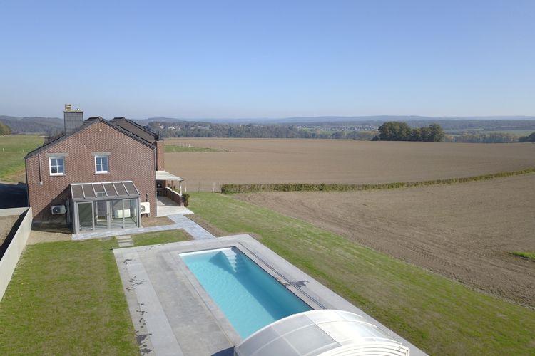 Belgie | Luxemburg | Vakantiehuis te huur in Enneille met zwembad  met wifi 10 personen