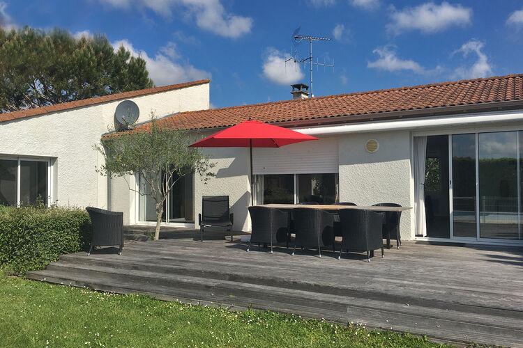 Villa met zwembad met wifi  Cote AtlantiqueVilla Petite Champagne