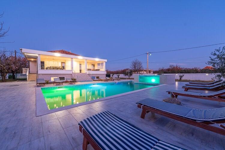vakantiehuis Kroatië, Dalmatie, Galovac vakantiehuis HR-00015-67