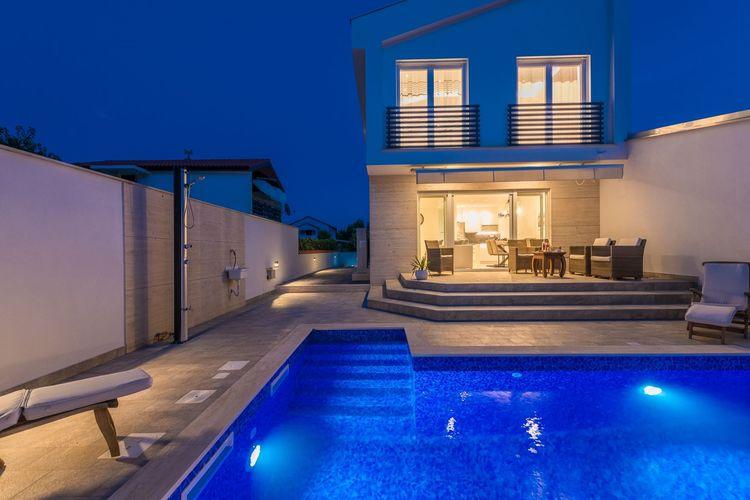 Villa Kroatië, Dalmatie, Privlaka Villa HR-23233-05