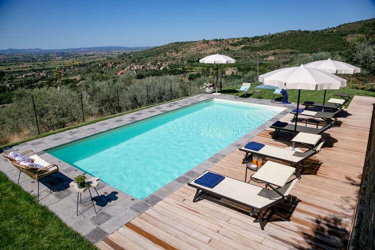 Villa Italië, Toscana, Cortona Villa IT-52044-299