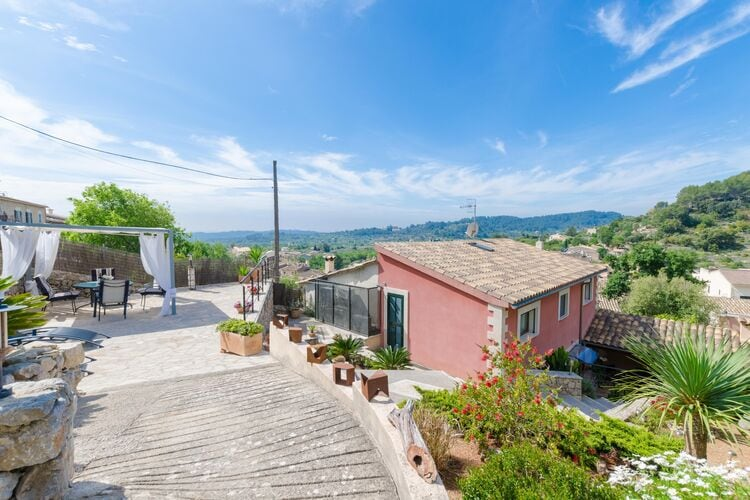 Vakantiehuizen Spanje | Mallorca | Chalet te huur in Caimari-Illes-Balears   met wifi 8 personen