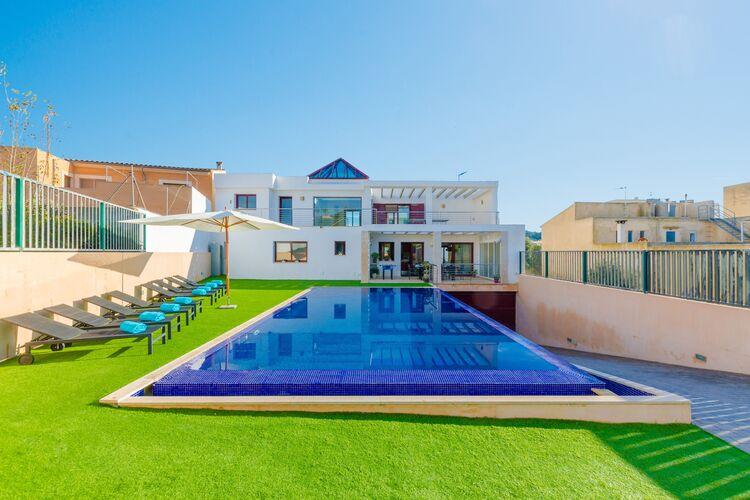 Vakantiehuizen Spanje | Mallorca | Villa te huur in Felanitx-Illes-Balears met zwembad  met wifi 8 personen
