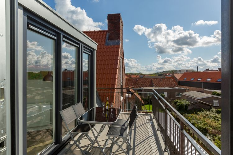 Appartement  met wifi  ZoutelandeAparthotel Zoutelande - 5 pers luxe appartement