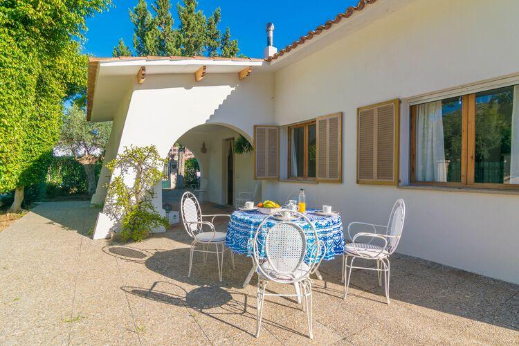 Vakantiehuizen Spanje | Mallorca | Chalet te huur in Port-Dalcudia-Illes-Balears   met wifi 5 personen
