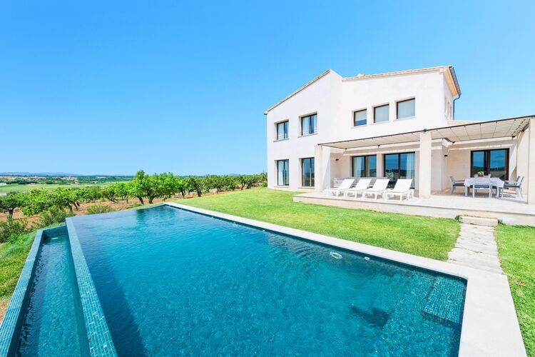 Spanje | Mallorca | Villa te huur in Ariany-Illes-Balears met zwembad   8 personen