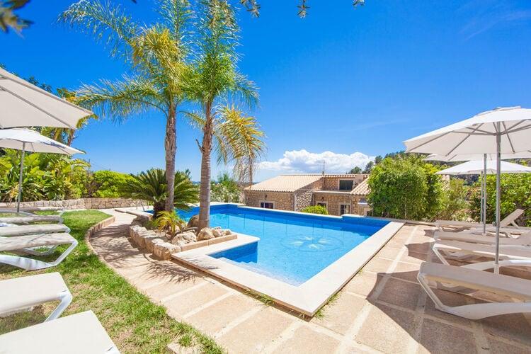 Villa met zwembad met wifi  MallorcaCan Rasca